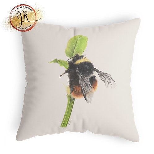 Bee Cushion - Mrs B,the Bilberry Bumble Bee