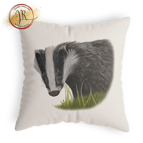 Badger Cushion - Hector the Badger