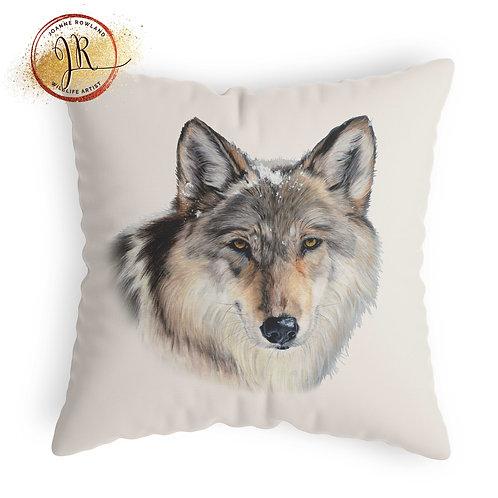 Wolf Cushion - Enigma the Wolf
