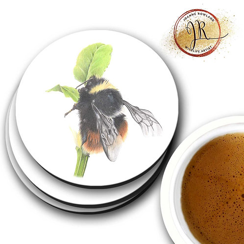 Bee Coaster - Mrs B,the Bilberry Bumble Bee