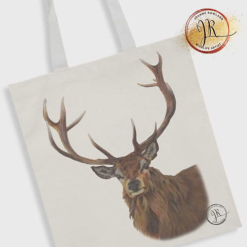 Stag Tote Bag - Reg the Regal Stag