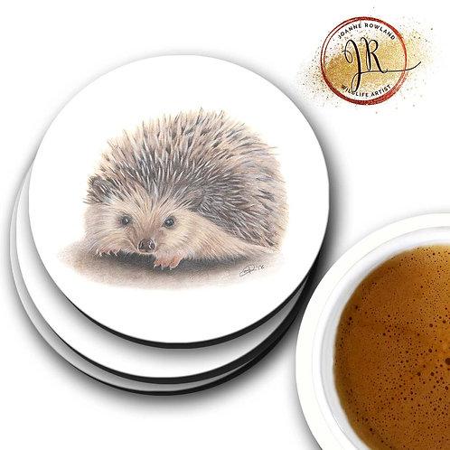 Hedgehog Coaster - Huggy the Hedgehog