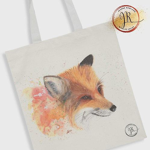 Fox Tote Bag - Colour Splash Fox