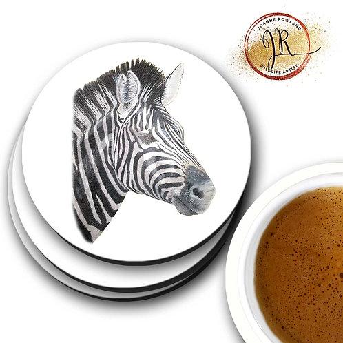 Zebra Coaster - Lucky the Zebra