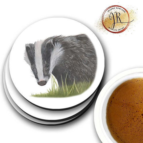 Badger Coaster - Hector the Badger
