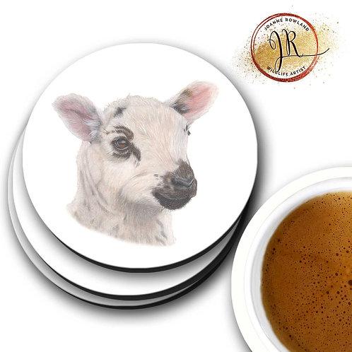 Lamb Coaster - Barbara the Bonnie Lamb