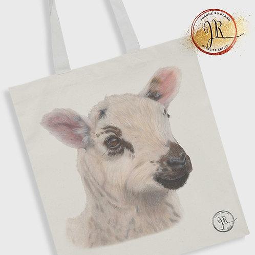 Lamb Tote Bag - Barbara the Bonnie Lamb
