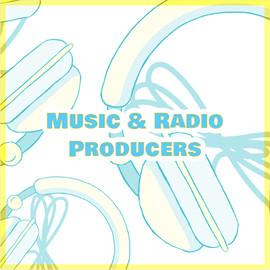 Music & Radio Producers