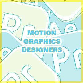 Motion Graphics Designers