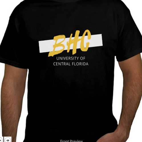 BHC Shirt Front View