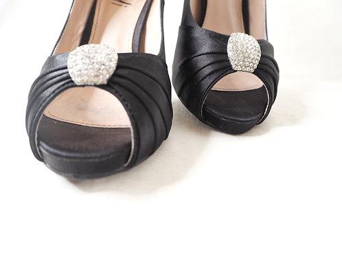Verali Peep Toe Heels