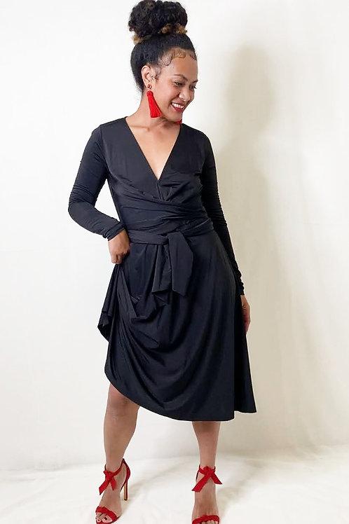 Charlie Brown Black Dress
