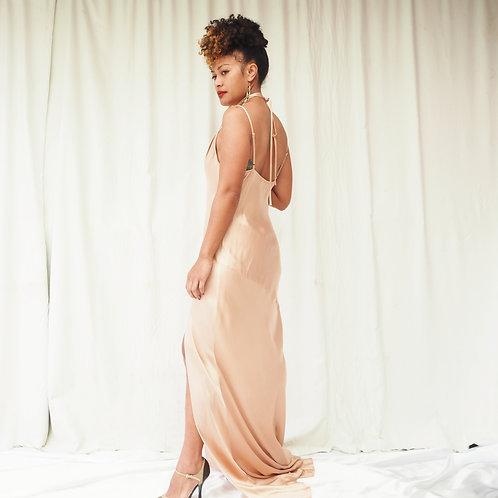 Shona Joy Gold Dress