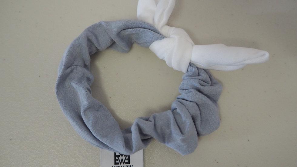 Happy Blue Scrunchie