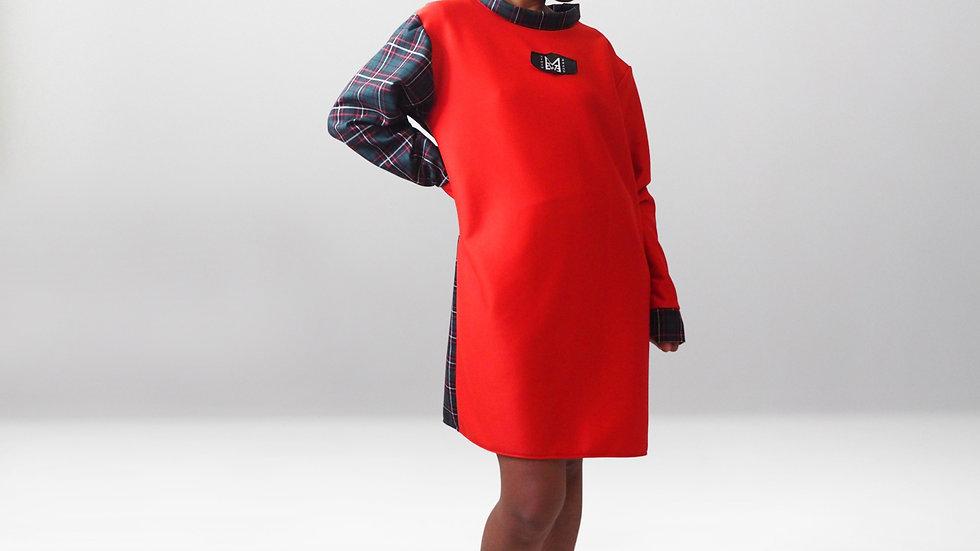 Madras Me Jumper Dress