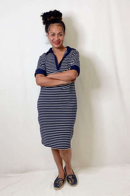 Peter Morrissey Knitted Jersey Dress