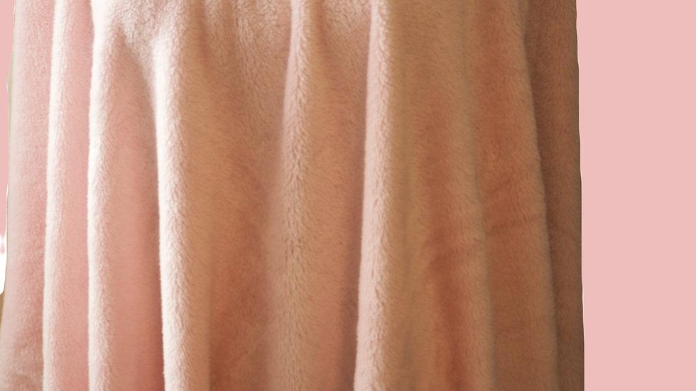 Cozy Pink Poncho