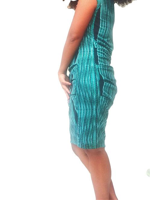 Country Road Leaf Print Dress