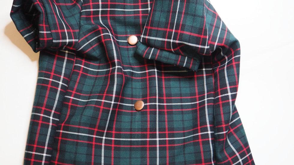 Madras Bow Tie Tee
