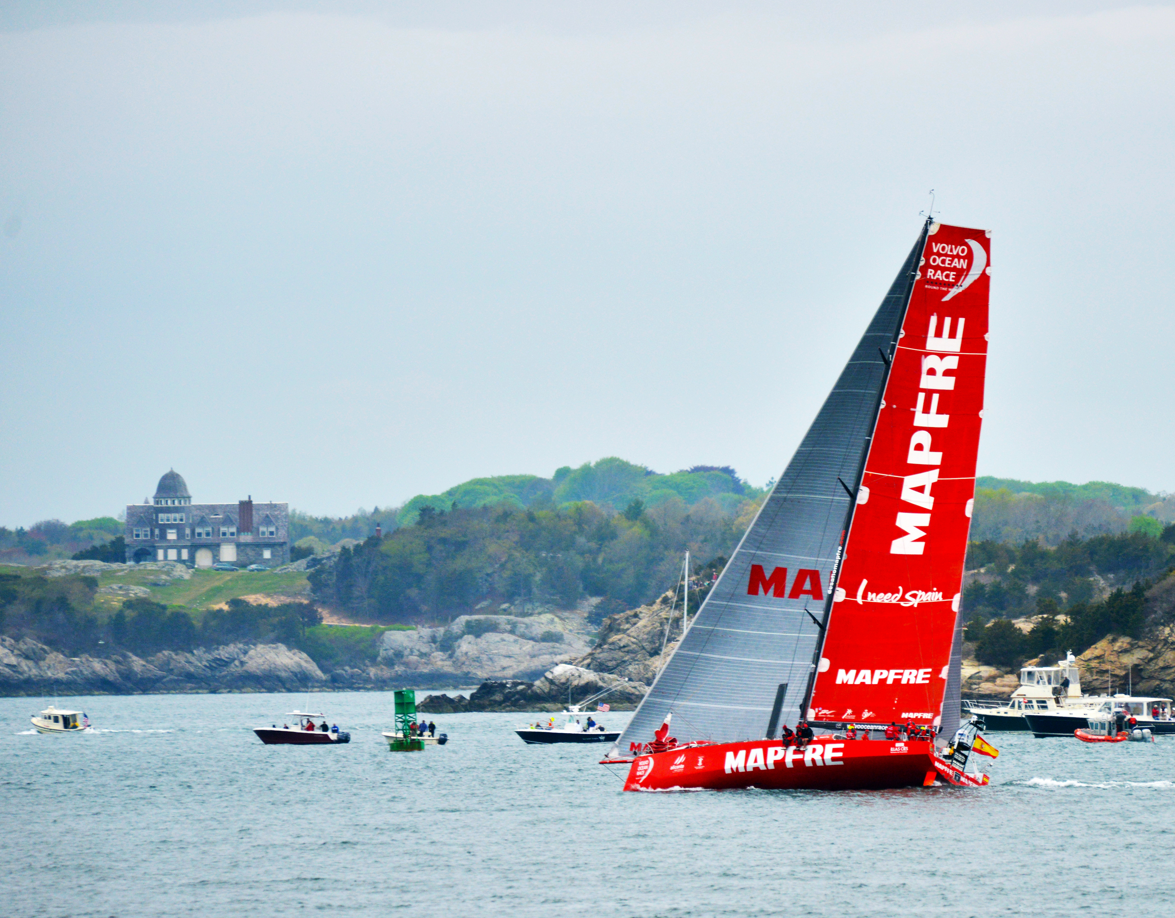 mapfre in the lead