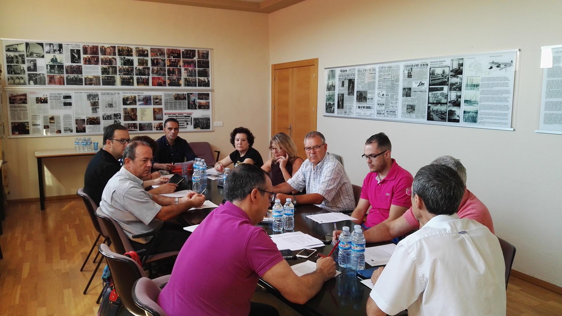 Yecla. Plan participación, sector industrial LEADER NORDESTE