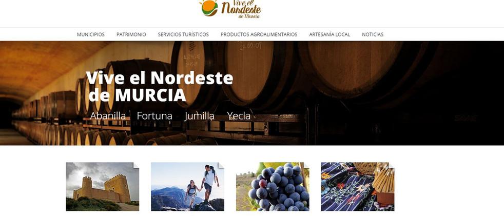 Proyecto piloto: portal de ocio rural y gastronómico NORDESTE