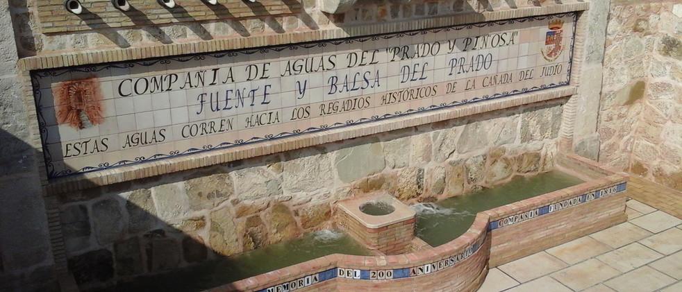 Restauración y acondicionamiento de la balsa de riego y el abrevadero del Prado
