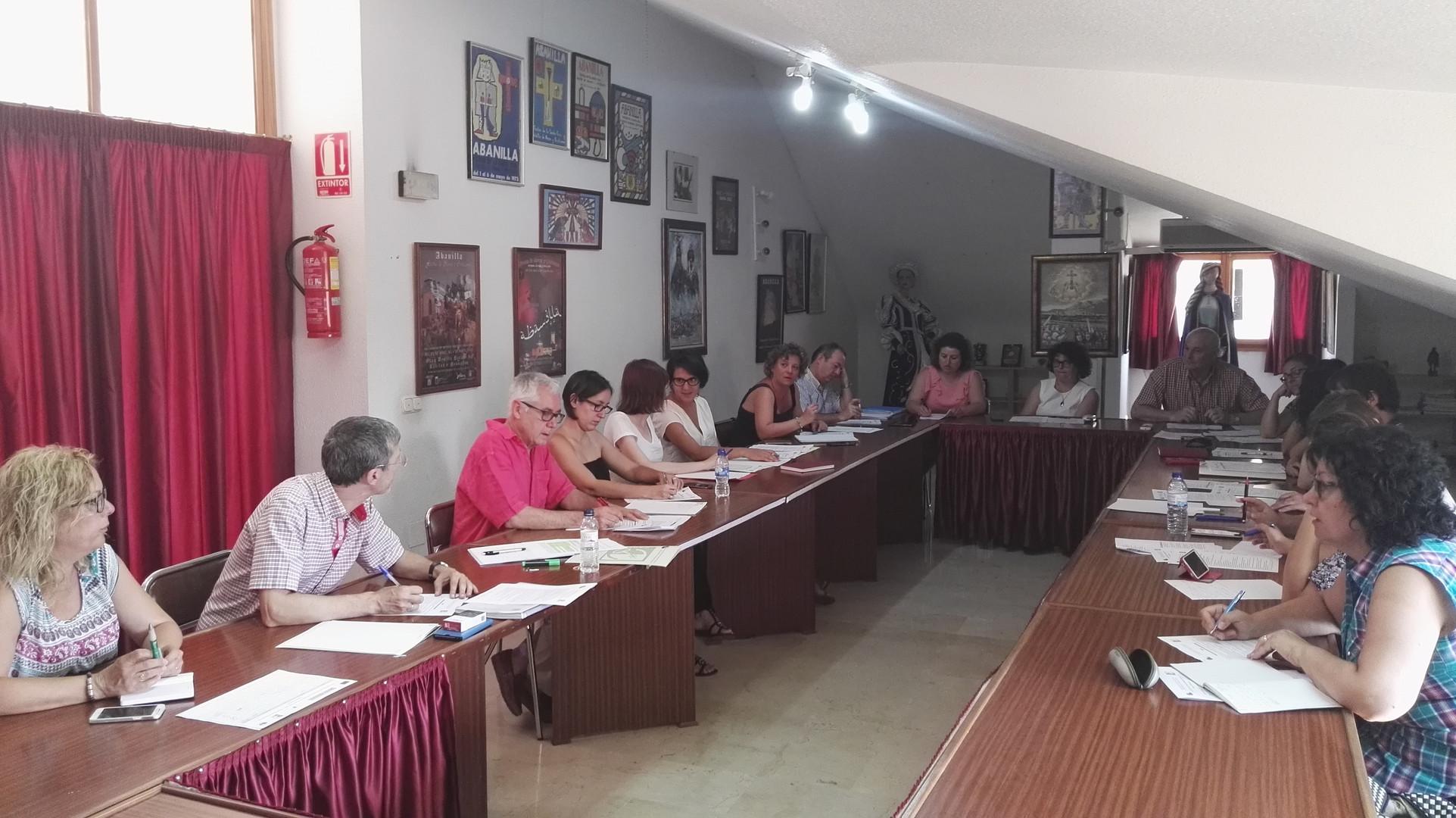 Abanilla. Junta Directiva y Asamblea EDLP-NORDESTE