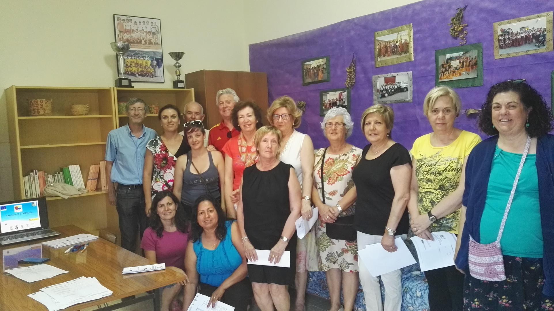 Cañada del Trigo. Proyecto de cooperación ECOMUJER.