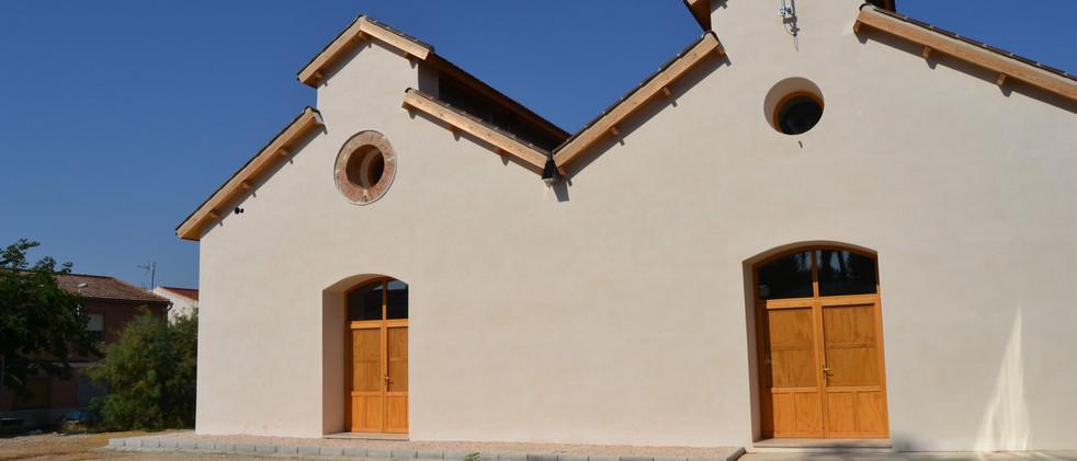 Rehabilitación de fabrica de espartería para Centro de Interpretación del Vino