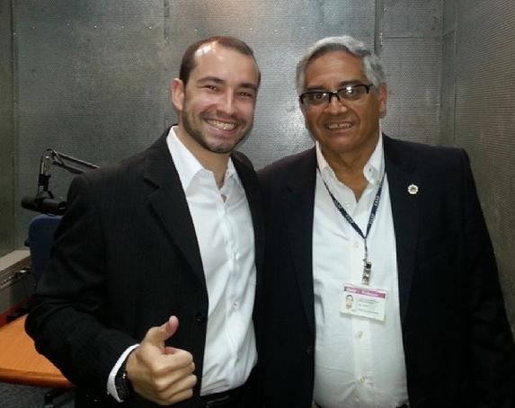 Radio FAAP com Luiz Alberto Machado