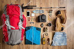 stock-photo-top-view-travel-things-on-th