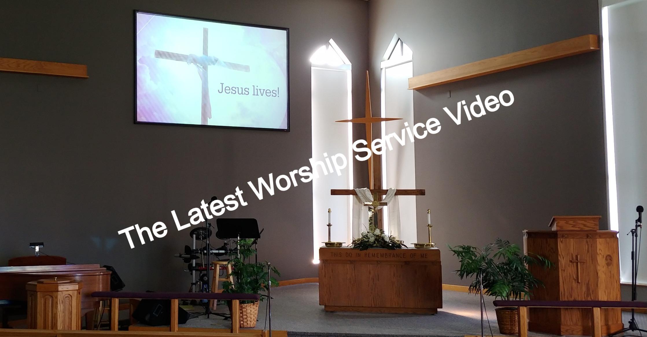 Latest Worship Service Video