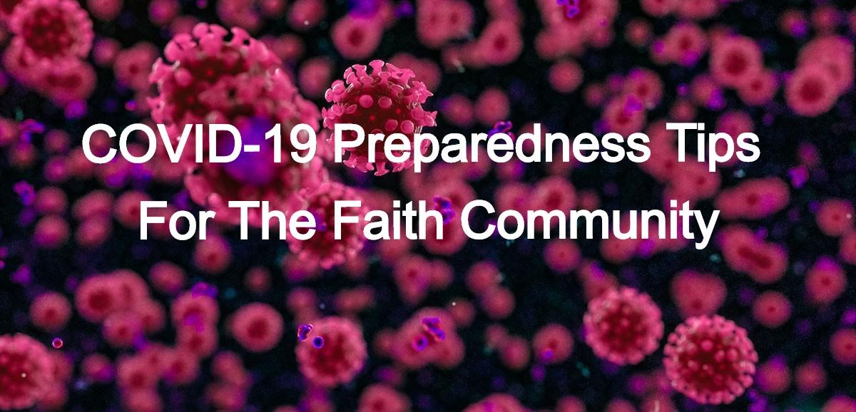 COVID-19 Preparedness Tips for the Faith Community