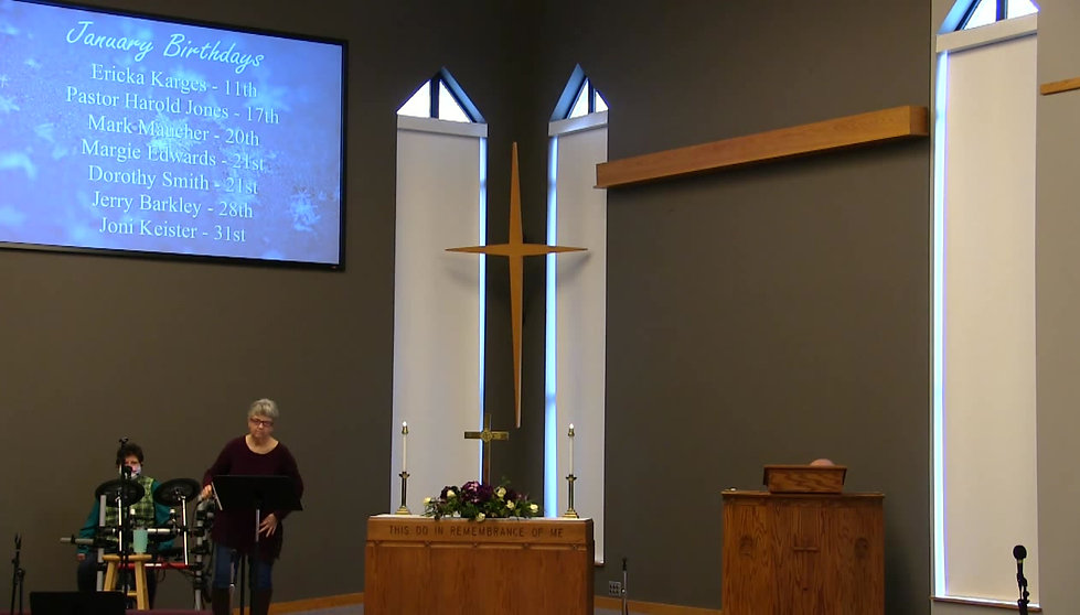 Our Latest Worship Service