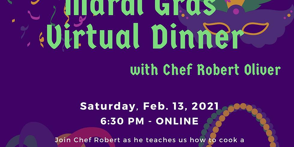 Shrine Mardi Gras Interactive Dinner with Chef Robert Oliver