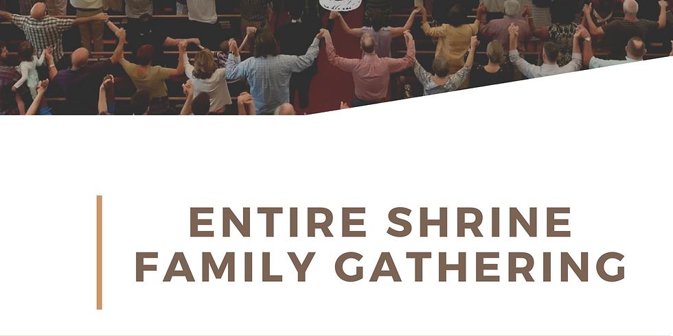 Entire Shrine Family Gathering