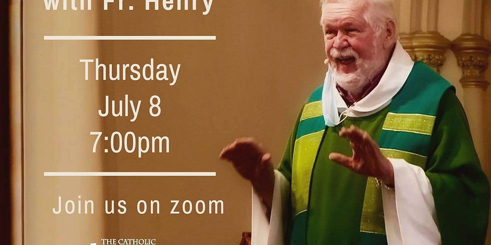 An Evening with Fr. Henry