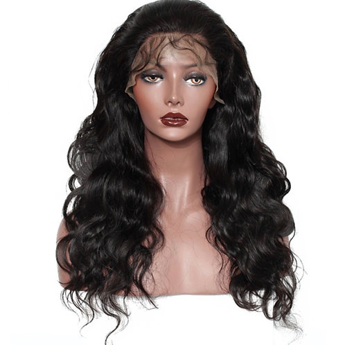 Brazilian Body Wave Transparent Lace Wig