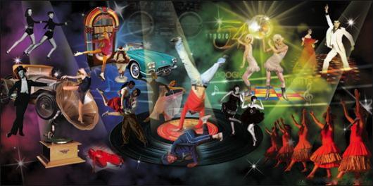 """""""Evolution of Dance 2"""" Backdrop"""
