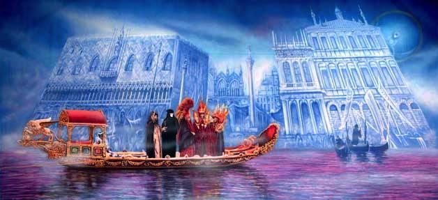"""Venetian Carnival 4"""