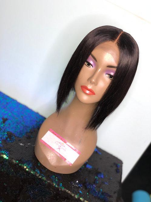 Custom Made Bob Lace Closure Wig