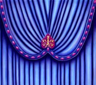 """Venetian Carnival Drape Header 3"""
