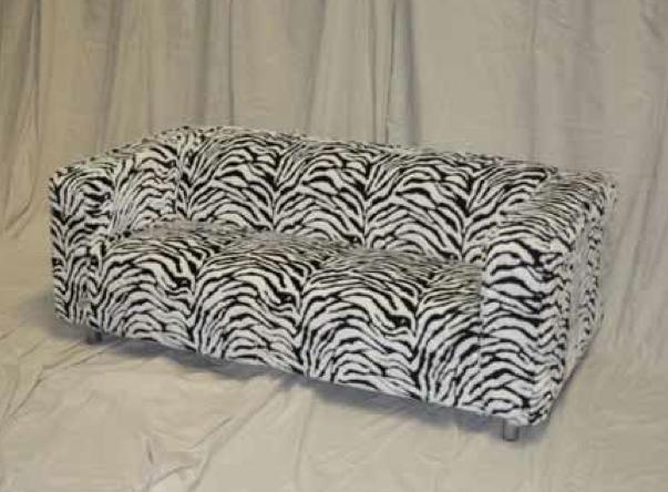 Zebra Print Lounge