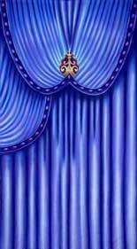 """Venetian Carnival Drape Panel 5"""