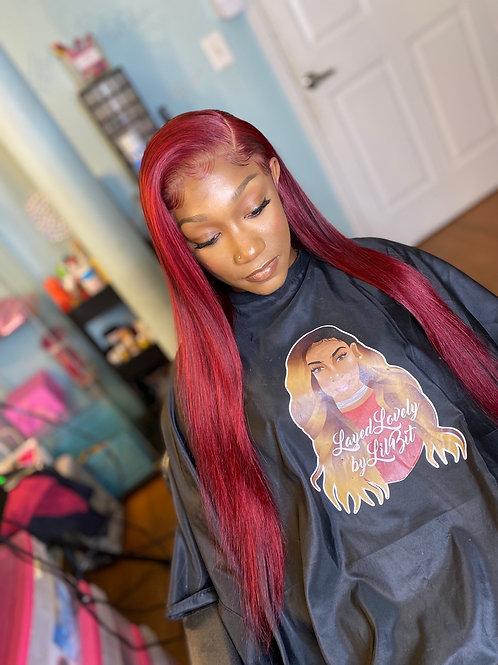 Custom coloring *1B Wig