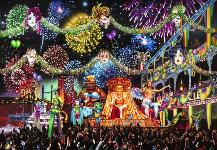 """""""Mardi Gras Parade 1"""""""