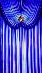 """Venetian Carnival Drape Panel 1"""