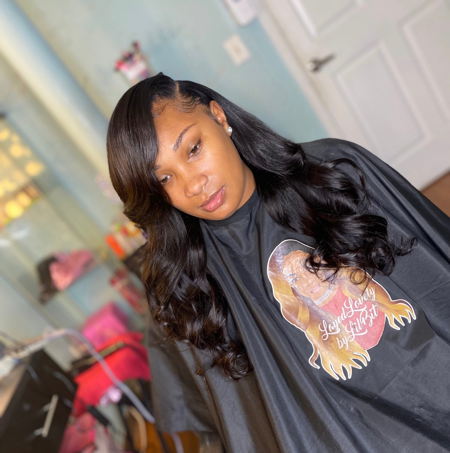 Traditional Side Part Sew-In