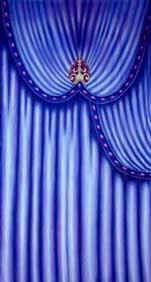 """Venetian Carnival Drape Panel 6"""